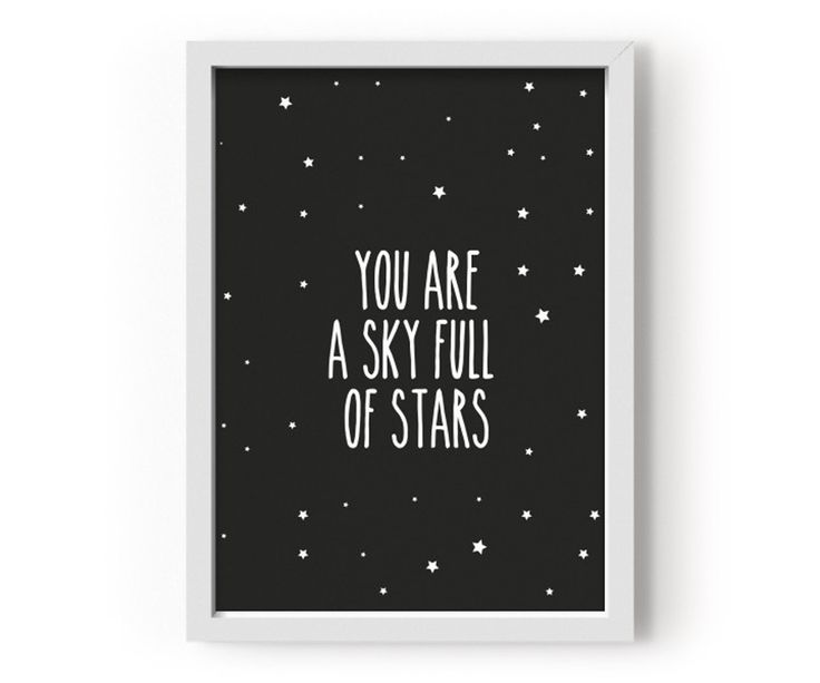 POSTER - YOU ARE A SKY FULL OF STARS