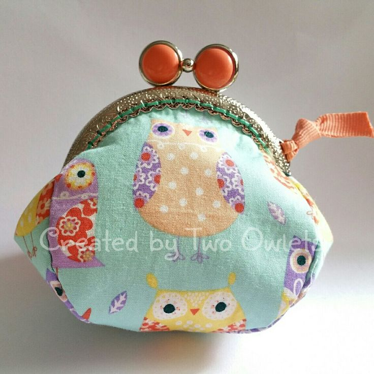 Hoot hoot owl kisslock purse