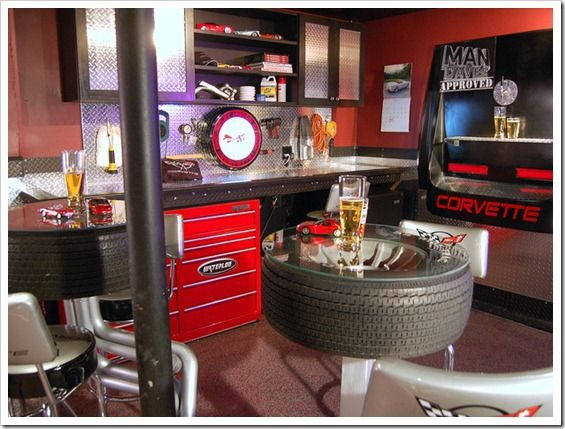 For The DIY Man What Better Idea For A Home Bar Design Than Utilizing A  Workbench? This Idea Is Great For Garage Bars.