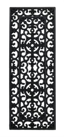 Snygg dörrmatta (120 cm bred) till dubbeldörrar från Matt-Tema.
