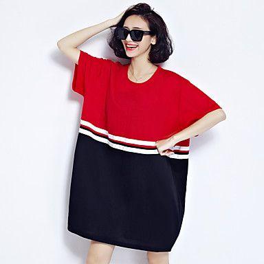 spring teken nieuwe korte mouwen Koreaanse mode eenvoudige losse dunne literaire kleine boete katoenen trui 5690637 2017 – €13.57