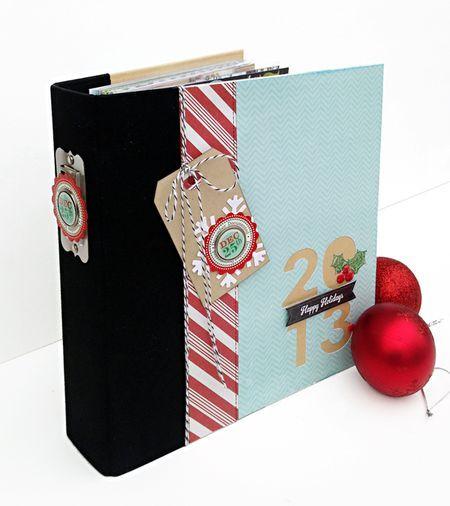 December Daily album created by design team member Kelly Goree