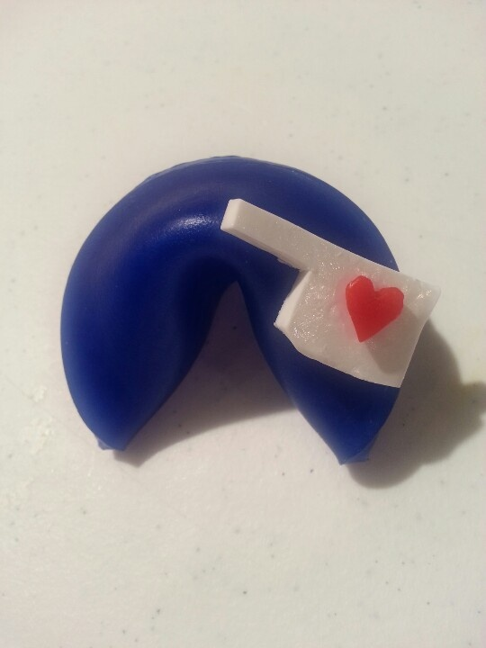 """Love for Oklahoma"" fortune cookie soap"