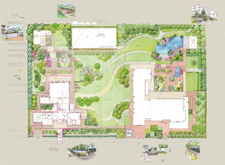 Многоуровневый сад в КП Кристалл Истра - ARCADIA GARDEN Landscape studio
