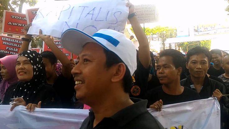 PKL Pasar 16 Gelar Unjuk Rasa