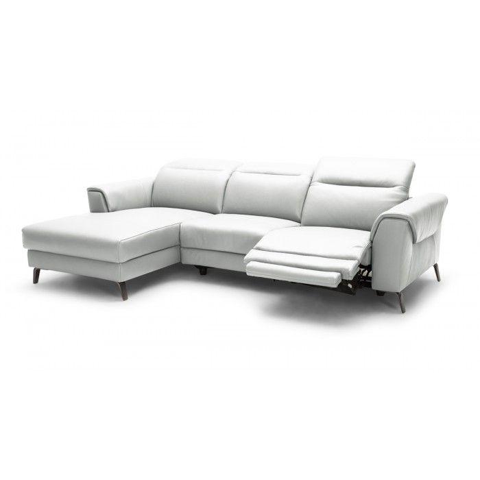 Shop Oversized White Italian Leather Sectional Sofa: 17 Best Ideas About White Leather Sectionals On Pinterest