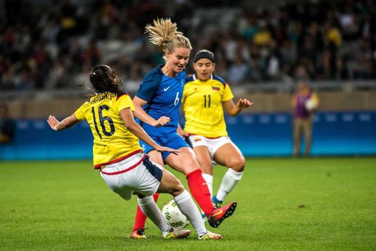 DAY 1: Women's Soccer - France vs. Colombia