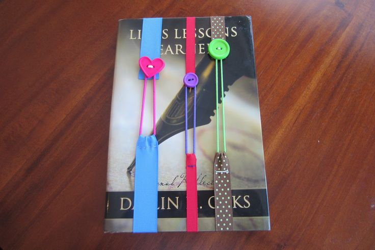 1000 ideas about ribbon bookmarks on pinterest for How to tie a ribbon on a bookmark