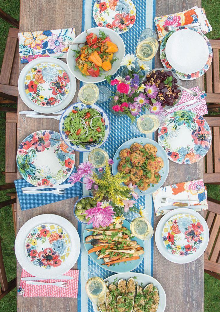Summer Entertaining | Garden Dinner Party for the Cut the Sugar Book