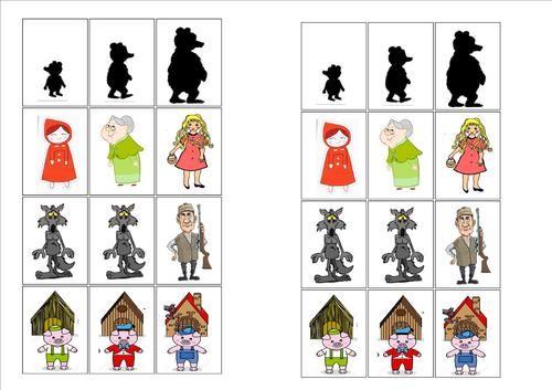 Les contes traditionnels : Petit chaperon rouge - Boucle d'or - Trois petits…