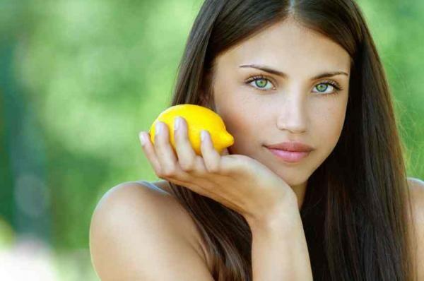 Limón para el acné