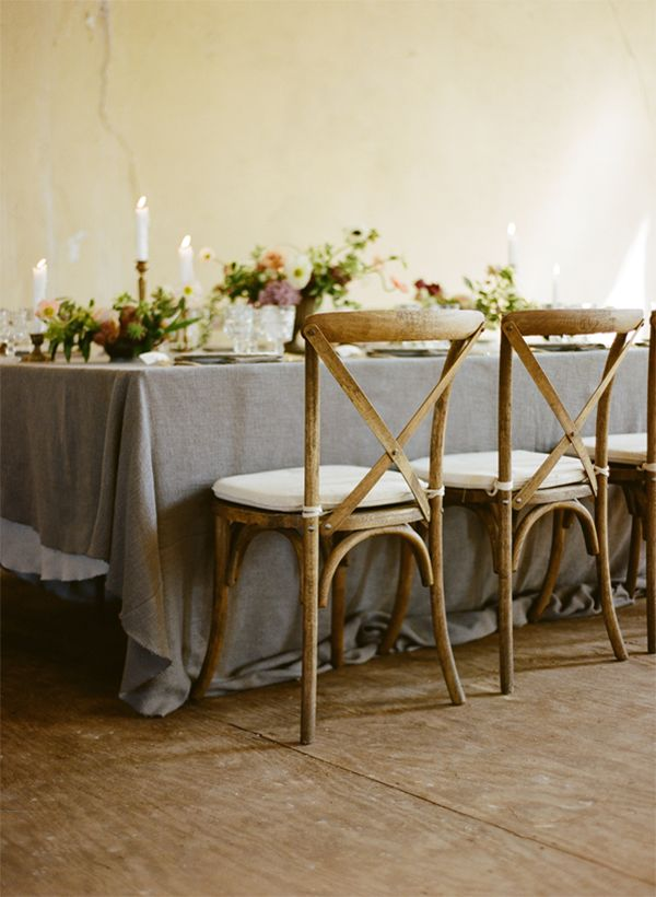 delicate, vintage details for a dreamy table scape   via: once wed