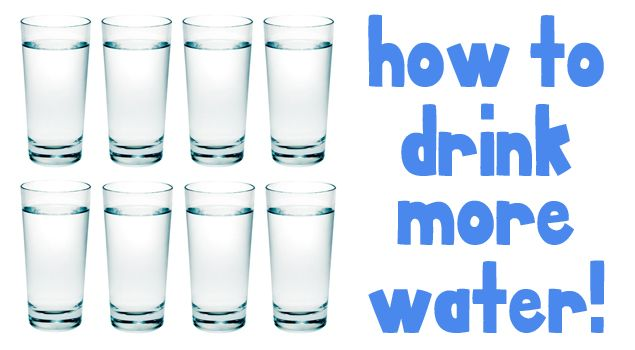 Here's 23 Tips For Drinking More Water Each Day! There's no doubt that drinking WATER is important to our overall health. So how do we go about getting enough each day? Here's some great tips shared by One Good Thing by Jillee: http://www.skinnykitchen.com/recipes/23-tips-for-drinking-more-water-each-day/