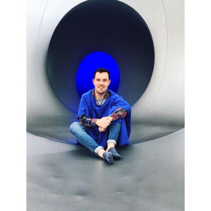 Ive love yerrr cape whered ye get it?  #london #art #friends #now #love #clapham #colourscape #cape #blue