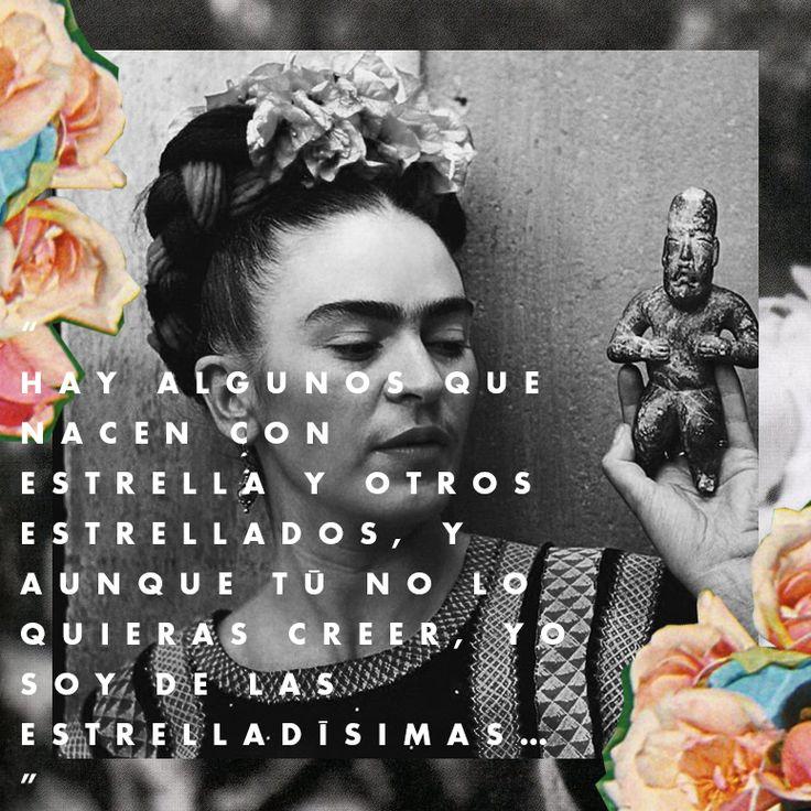Las frases más apasionadas de Frida Kahlo : ELLE