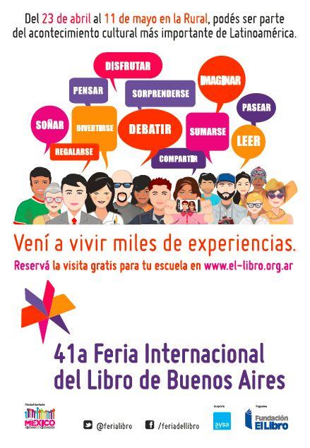 Información General   41.ª Feria Internacional del Libro de Buenos Aires   Sitio Oficial