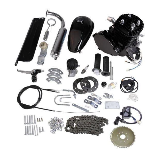 Flaming Horse Black Slant 80cc Bicycle Engine Kit