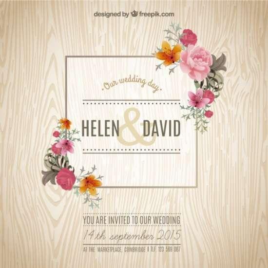 40 Free Wedding Invitation Templates - XDesigns                                                                                                                                                     More