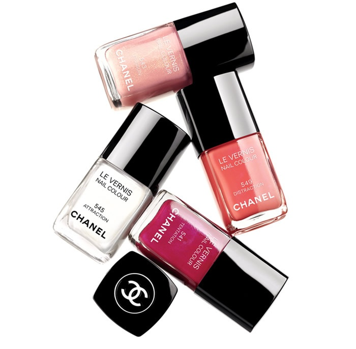 I'd like to have them all please? <3  #Chanel #LeVernis: Nails Colour, Spring Nails, Polish Nails, Summer Colour, Summer Nails, Nails Polish Collection, Chanel Spring, Chanel Nails Polish, Nails Polish Colors