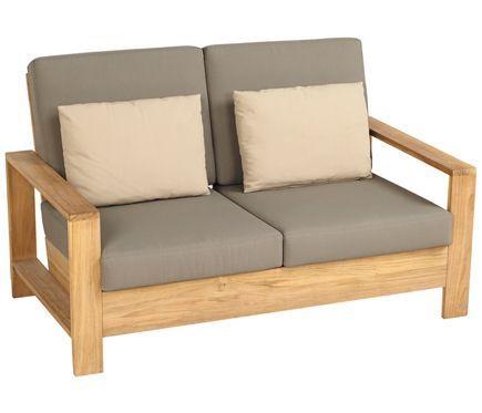 Sofá de madera CAYO LARGO