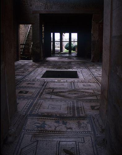 Mosaic Atrium, Pompeii