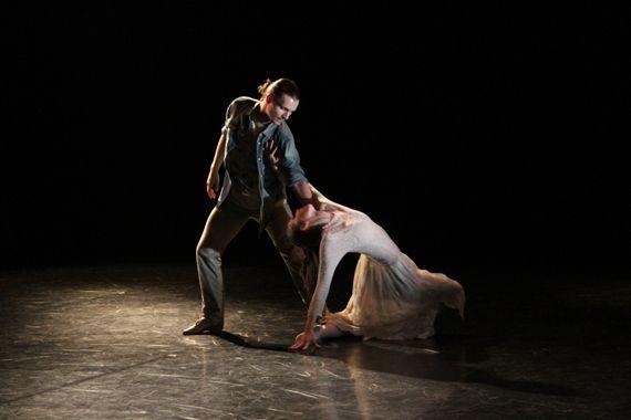 Bohemia Baletu současný tanec sluší