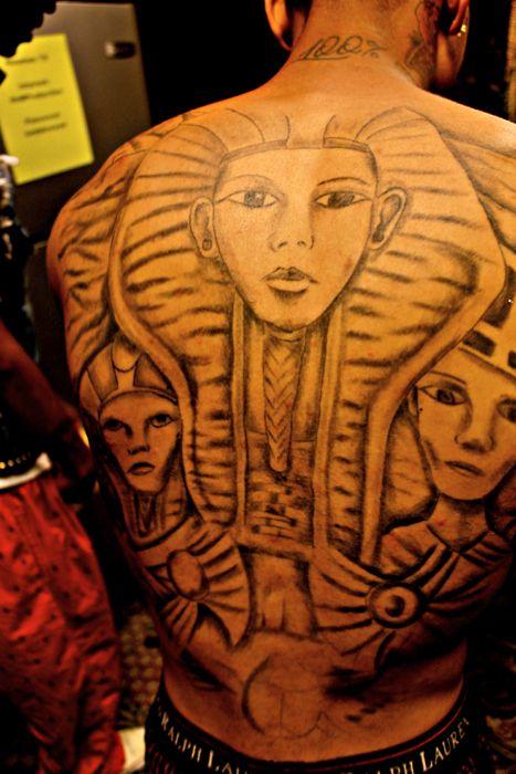 tyga last kings tattoo