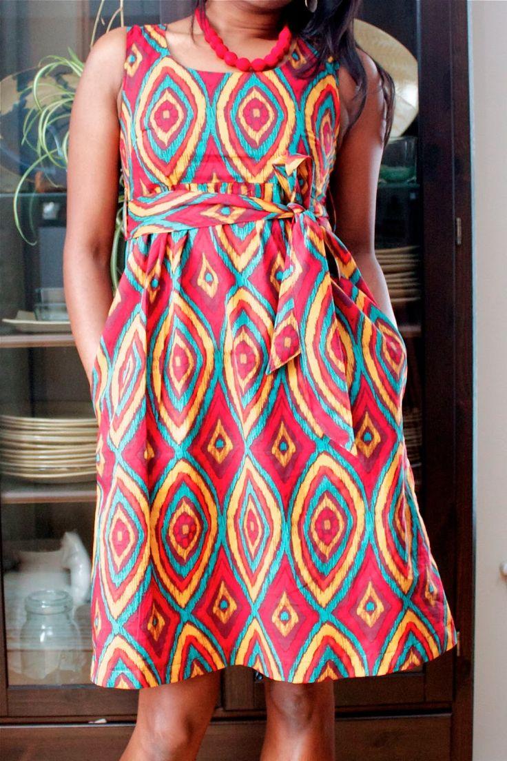 New Washi Dress with pattern adjustments