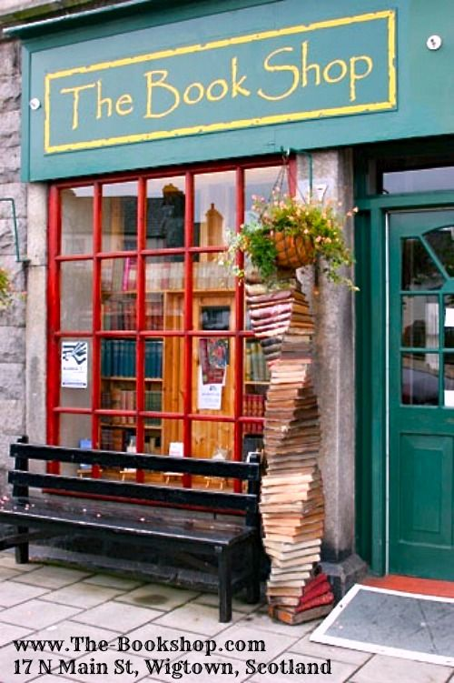 10 of the BEST: SECONDHAND BOOKSHOPS, The Guardian. The best places to browse for books in Britain by Anna Tims, Oct 2009 ... THE BOOK SHOP, 17 N Main St, Wigtown. Tel: 01988 402499. www.The-Bookshop.com Scotland's biggest second-hand bookshop... a mile of shelving holds books on all subjects and prices. There are sofas in the gallery and good coffee... Customers tend to spend hours browsing...