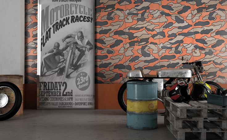 Ornamenta's Modern Graphic Tile Collection