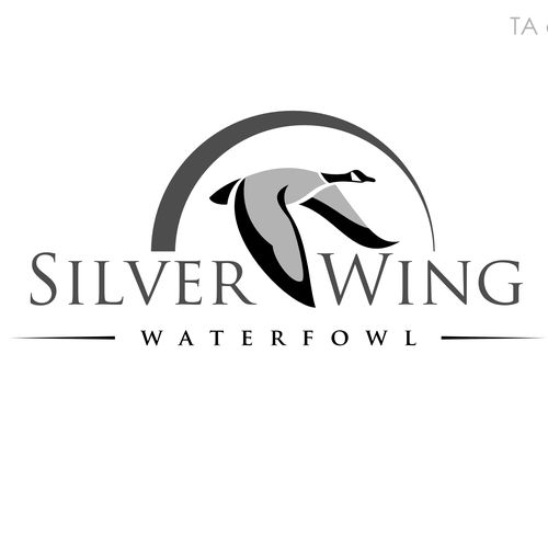 Silver Wing Waterfowl - Create a logo with a name included for a waterfowl hunting outfitter Waterfowl hunting outfitters. Hunting for Canada geese and Ducks. We also have labrador Retrievers used for hunting.... #waterfowlhunting