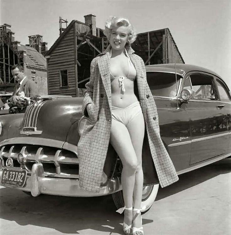 Marilyn Monroe first Car