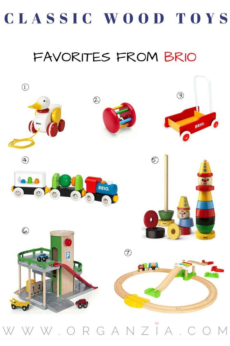Classic Wood Toys My Top 7 Favorite Toys From Brio Gender Neutral Toys Wood Toys Toy Gift Guide