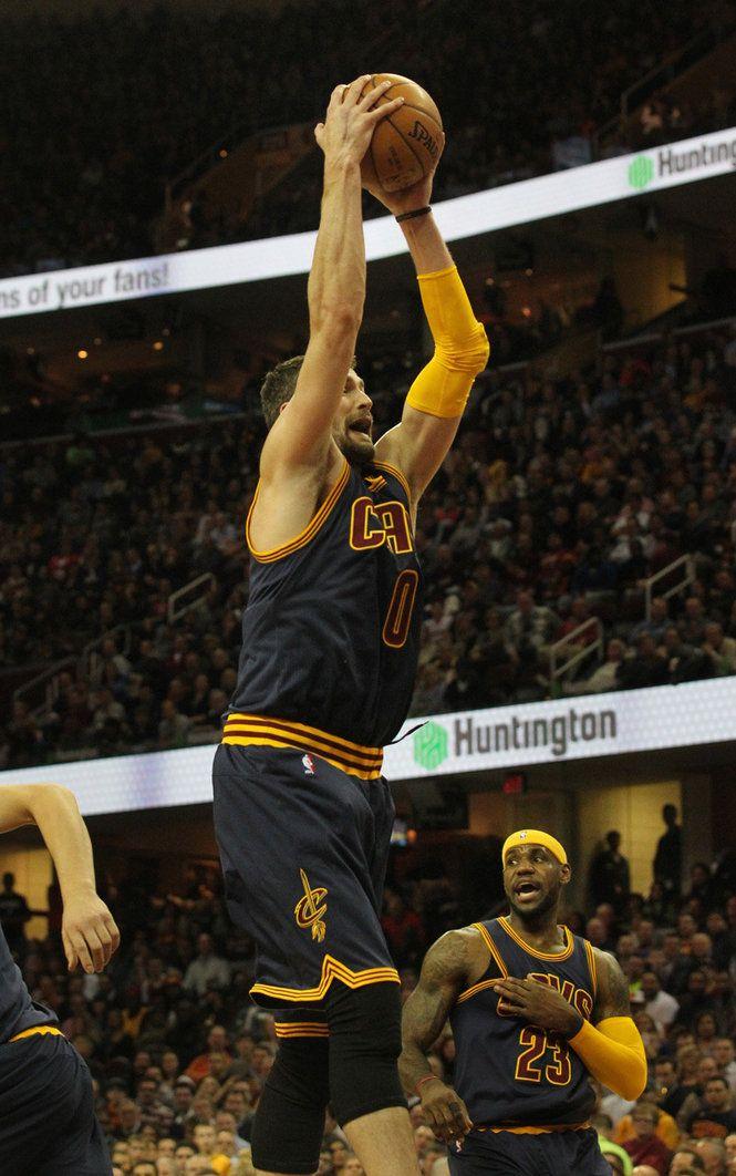 Kevin Love: Cavs vs. Warriors, Feb.26, 2015