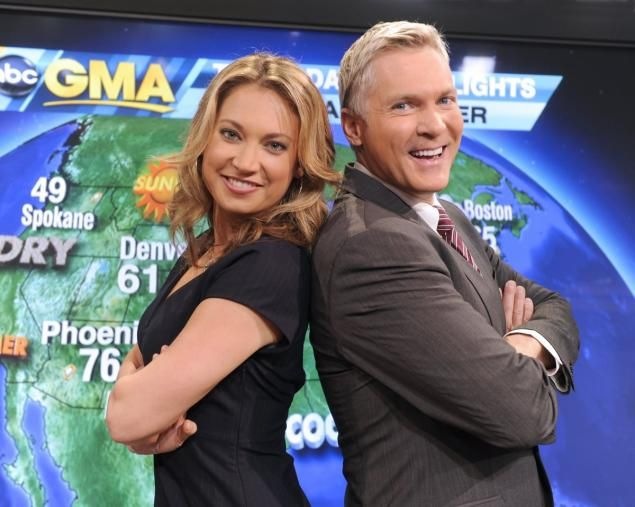 'Good Morning America' anchor Ginger Zee supports Sam Champion after his Weather Channel show gets cancelled