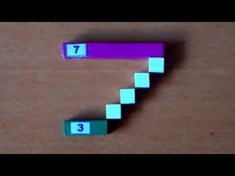 ▶ Aprendiendo a restar con las regletas de Cuisenaire - YouTube