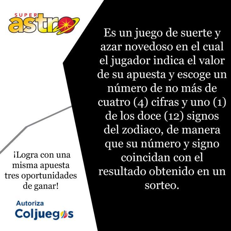 En SÚPER ASTRO con la misma apuesta tienes 3 oportunidades de GANAR. Entérate cómo en https://www.superastro.com.co/ #superastro #juegoresponsable #juegosdeazarencolombia