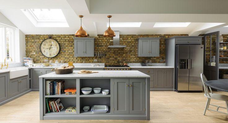 small u shaped kitchen mdfyw devol kitchens cotes mill london home design interior shaker
