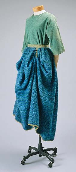 Bonnie Cashin. Love the colors, love the skirt and the use of hardware.