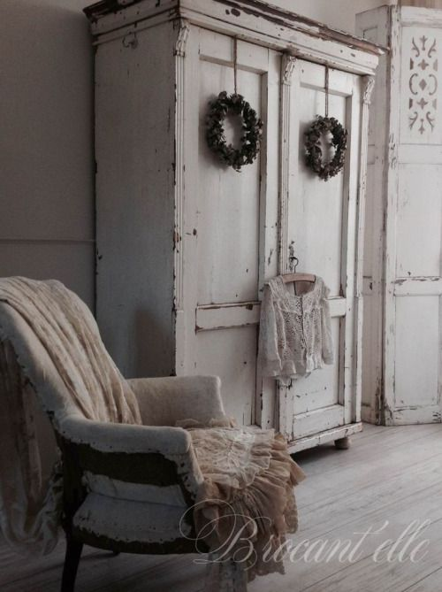 the rustic cottage...