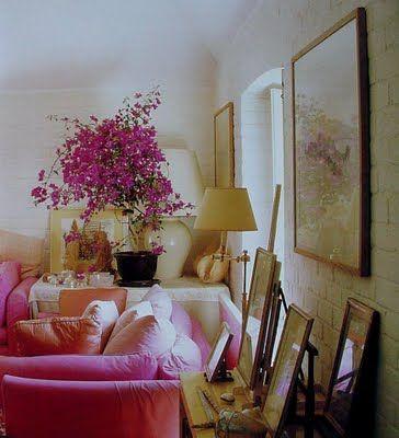 10 best images about pink on pinterest reading room for John stefanidis interior design