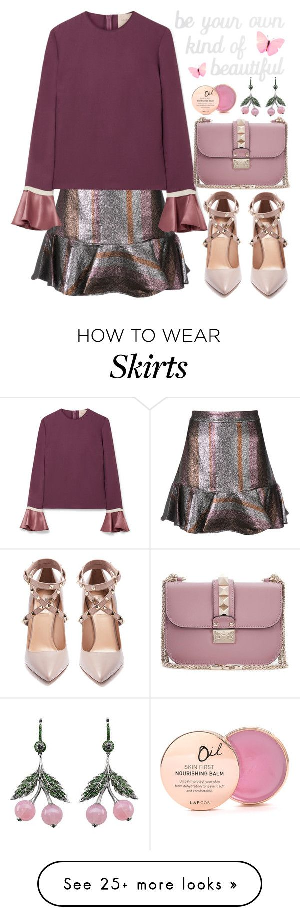 """RTD - Your own kind of beautiful"" by aleks-g on Polyvore featuring 10 Crosby Derek Lam, Roksanda, PBteen, Valentino, Axenoff Jewellery, Lapcos and country"