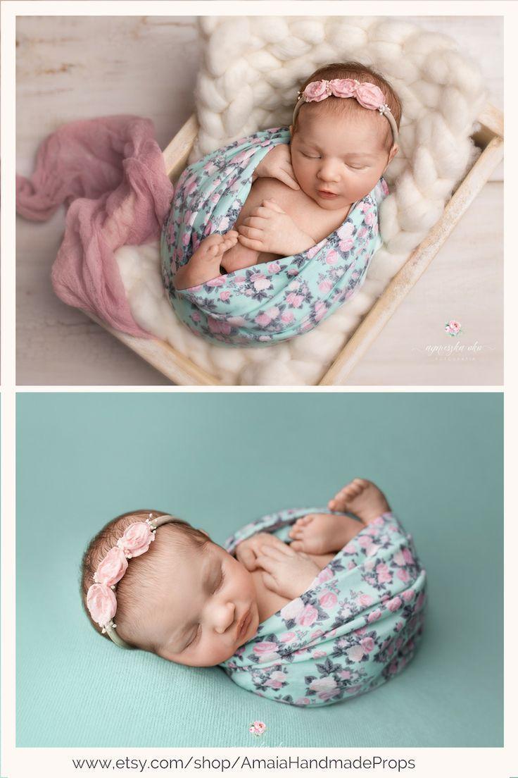 f6f646c285732 Newborn girl wrap for photography | Photography - BABY | Newborn ...