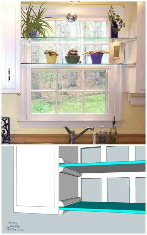 Window Shelf Tutorial plus Home Staging Tips and Ideas – Improve the Value of Your Home on Frugal Coupon Living.