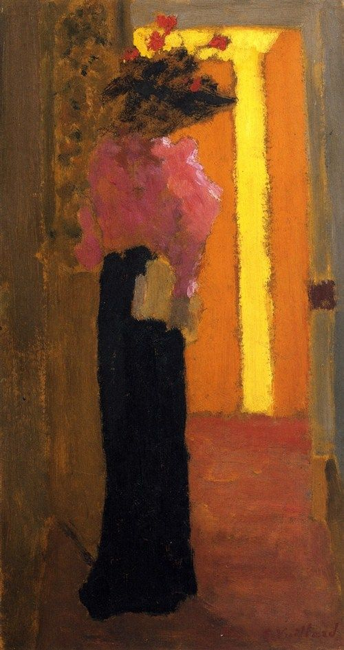 Lady of Fashion-c.1892 by Edouard Vuillard