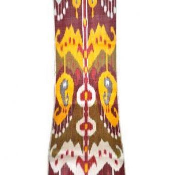 Ikat fabric Silk cotton