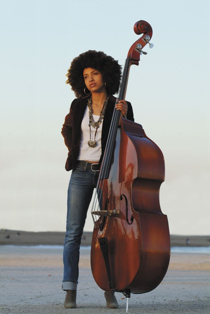 Esperanza Spalding. She's a good bassist but it's her singing that impresses me the most.