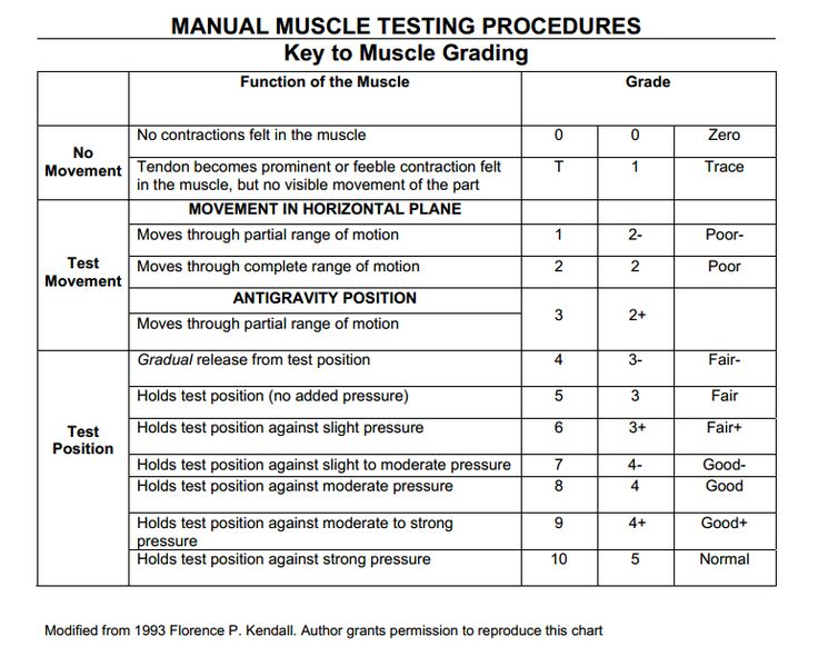 62 best manual muscle testing images on pinterest | manual, muscle, Muscles