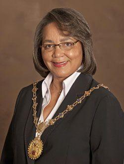 Executive Mayor Alderman Patricia de Lille
