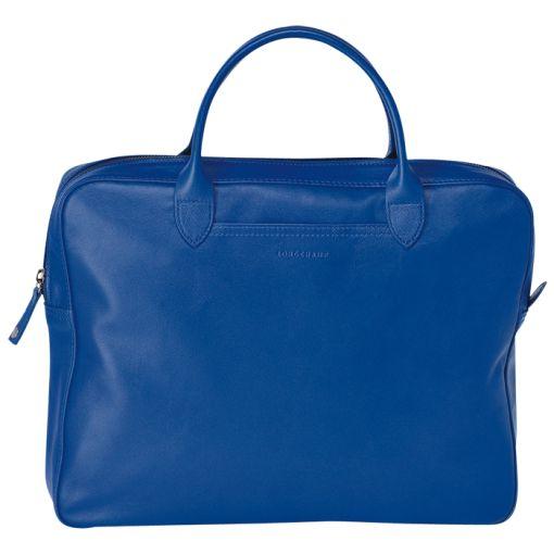 Longchamp - Porte-documents, Sacs, Bleu